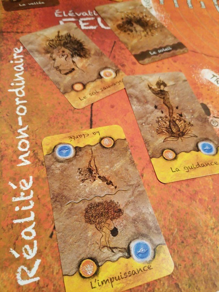 Un jeu de cartes né de la simplicité des peuples de la Terre et dédié aux esprits complexes des hommes modernes.
