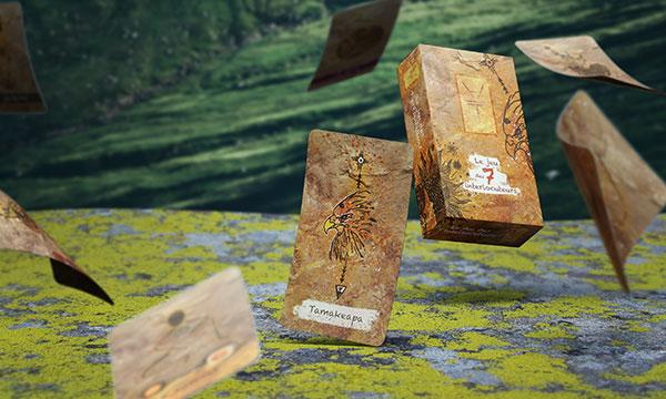 Mockup du jeu des 7 interlocuteurs de Tamakeapa